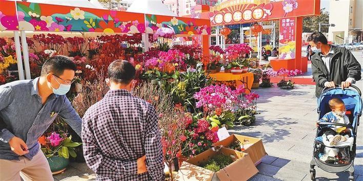 花市場がなければ、春節はない
